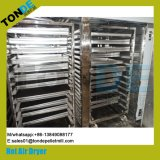 De industriële Drogere Machine van het Vlees van Meshroom van de Omloop van het Roestvrij staal