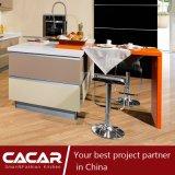 A noite do gabinete de cozinha da laca de Turin com console (CA12-16)