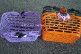 Halloween-Plastikkürbis-Körbe (HW010)