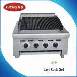 Ce Approuvé Commercial Acier Inoxydable Gas Lava Rock Grill