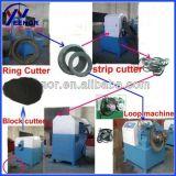 Hohe Leistungsfähigkeits-Abfall-Reifen-Abfallverwertungsanlage/automatischer verwendeter Gummireifen, der Gummipuder-Körnchen-Maschine aufbereitet