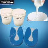 RTV de caucho de silicona para la fabricación de moldes de zapatos de ratón de la plantilla