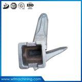 OEMの掘削機またはブルドーザーの予備品のアダプターのポイントまたは石またはバケツの歯