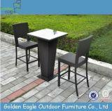 Insieme di vimini della barra di caffè di Indoor&Outdoor