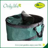 Onlylifeの緑によってはFoldable庭袋の折りたたみ防水貯蔵容器が現れる