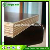 La madera contrachapada Shuttering concreta para la construcción, película negra hizo frente a la madera contrachapada impermeable de la madera contrachapada para el uso al aire libre