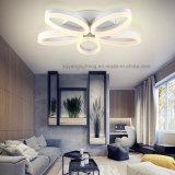 Lámpara de techo moderna interior, luz de techo de acrílico LED