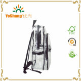 Sac en plastique clair durable de sac à dos de PVC d'EVA de mode