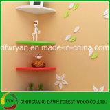 Plank van de Muur van de Hoek van de Raad van het Deeltje van het Algemene Gebruik van het Meubilair van het huis de Decoratieve
