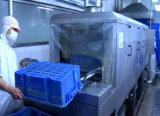 Paniers en plastique professionnels nettoyant la machine à laver de paniers de machine