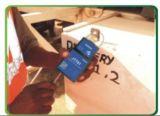 Behälter-Schließfach kann durch RFID und SMS Kennwort entsperrt werden