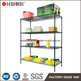 Epoxy Coated Metal Restaurant Cuisine Wire Storage Shelving
