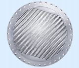 Tubesheet, condensador Tubesheet de Ss304L/hoja de tubo, borde galvanizado tasación del tubo del HDPE de Tubesheet