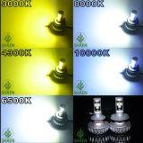 Fanless 30W H4 3s LED 기관자전차 헤드라이트