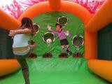 2017 جديدة قابل للنفخ لعبة غولف خيمة
