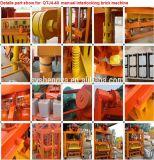 Qt4-40 신형 디젤 엔진 유압 콘크리트 블록 기계 가격