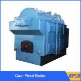 Caldera de vapor del carbón de la rejilla fija para la materia textil