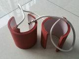Caneca do silicone, calefator da borracha de silicone, almofada de calefator do silicone