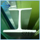 FRP de fibra de vidrio que forma del haz con el surco