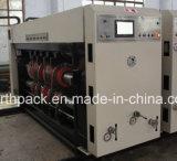 Impressão automática do flexo de GSYKM que entalha a máquina cortando