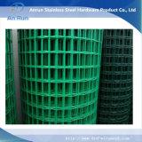Покрынная PVC сваренная ячеистая сеть для загородки