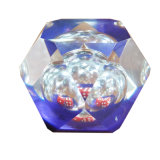 Hoher transparenter bernsteinfarbiger Epoxidkristallkleber