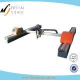 Plasma del pórtico portable y cortadora de aluminio de llama