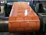 La configuration neuve chinoise de brique de mur de modèles de l'usine PPGI a enduit la bobine d'une première couche de peinture en acier