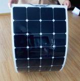 휴대용 위원회 태양 장비를 위한 고능률 50W 100W 150W 반 유연한 태양 전지판