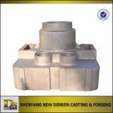 Pezzo fuso di sabbia dell'alloggiamento della scatola ingranaggi dell'Lega-Acciaio di alta qualità dell'OEM