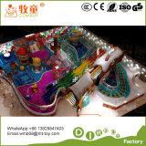 Weicher Innenspielplatz-kletterndes Trampoline-im Freiengerät