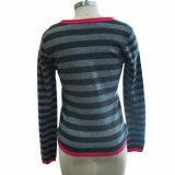 Knitwear 100% женщин пуловера кашемира Striped