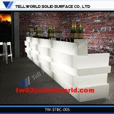 Tw Corian Staaf Furnitures van de Wijn van de Oppervlakte van de Staaf de Tegen, Stevige Commerciële