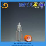 Botella ambarina del cuentagotas del aceite esencial del color del animal doméstico con el casquillo a prueba de niños