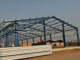 Prefabricated 강철 창고 플랜트 작업장 건물 (SL-0041)