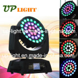 36 * 10W RGBW 4in1 Wash Zoom Aura LED Moving Head Light