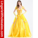 Princesse de luxe costumée Costume de costume de Bella d'usager de Veille de la toussaint des femmes