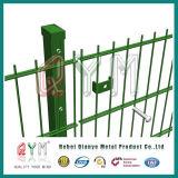 Doppelter Draht-Sicherheitszaun/galvanisierte geschweißten doppelten Draht-Zaun