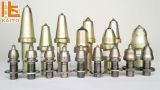 Bits de broca das máquinas de trituração da estrada/asfalto/pavimento concreto de W7 K7/picaretas/dentes/cortadores/ferramentas de estaca