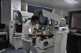 금속 제품 측정을%s Dro를 가진 디지털 단면도 영사기