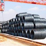 Alambre primero Rod de acero de carbón del precio SAE1006 SAE1008 del molino en bobina