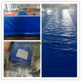 Roulis de bâche de protection de PE, couverture en plastique de camion de bâche de protection