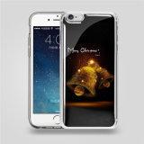 Caisse transparente de téléphone de densité de l'impression PC+TPU de qualité anti pour l'anti couverture de caisse de téléphone de densité de l'iPhone 6/6s