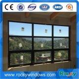Finestra di vetro fissa incurvata alluminio rivestito bianco del fornitore della Cina