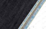 джинсовая ткань Fabric109 Twill Selvedge индига жаккарда 12.8oz супер темная