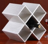 Trend Style PU Leather Wine Rack