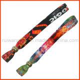 Wristband tecido tela do poliéster do evento (PBR027)