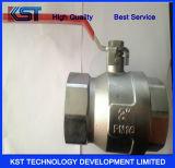 2-PCS плавая тип шариковый клапан кованой стали