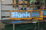 Publicidad superior LED Screen/LED del taxi al aire libre de P3