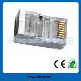 Enchufe del ftp de Cat5e RJ45/enchufe modular
